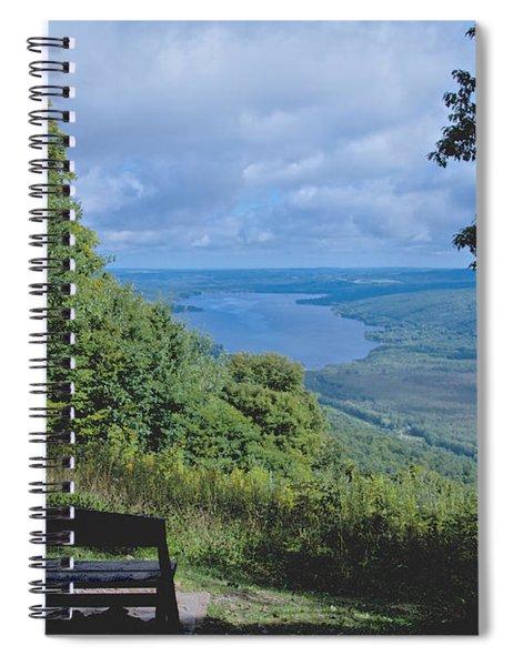 Lake Vista Spiral Notebook