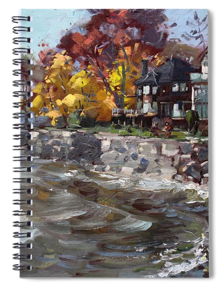 Lakeshore Mississauga Spiral Notebook