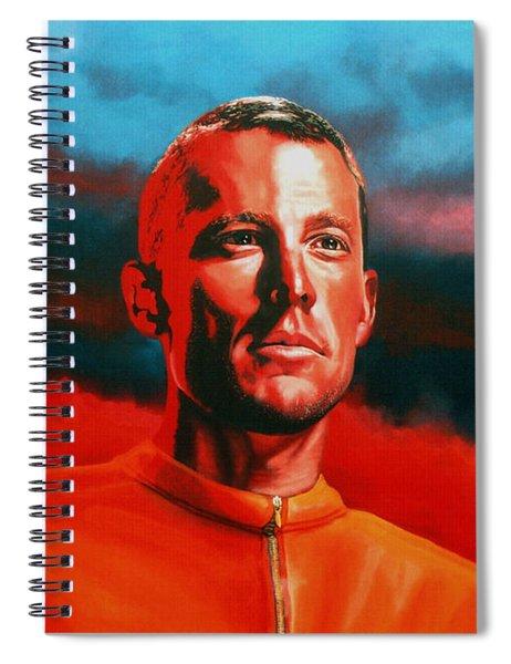 Lance Armstrong 2 Spiral Notebook