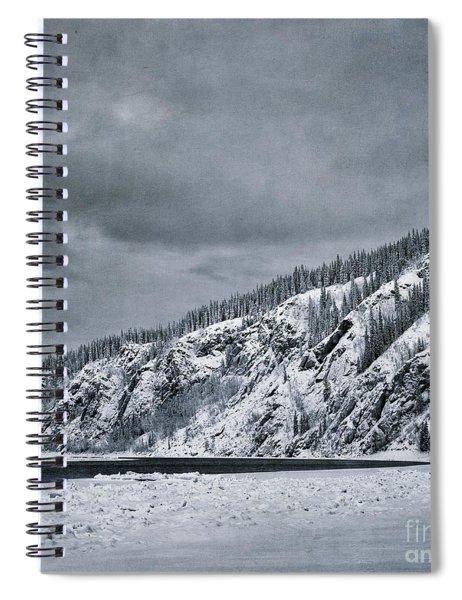 Land Shapes 13 Spiral Notebook by Priska Wettstein