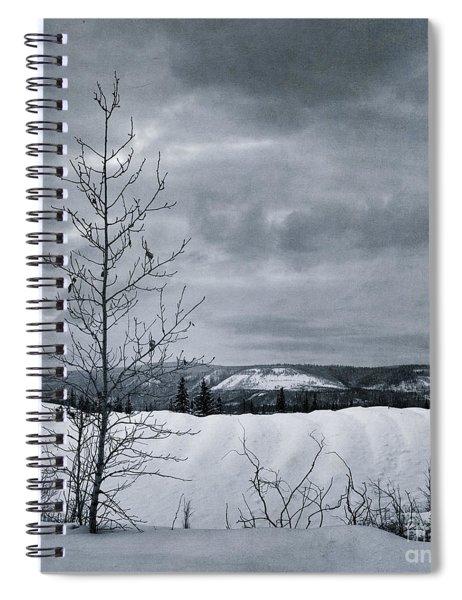 Land Shapes 15 Spiral Notebook by Priska Wettstein