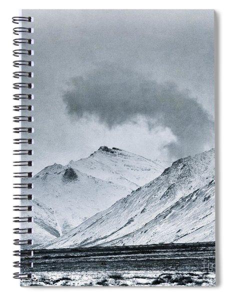 Land Shapes 17 Spiral Notebook