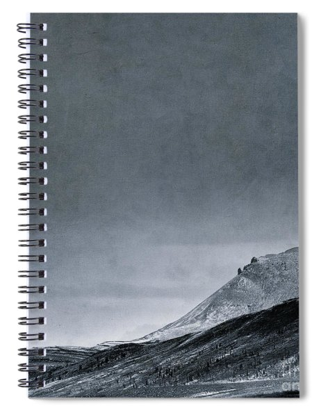 Land Shapes 6 Spiral Notebook by Priska Wettstein