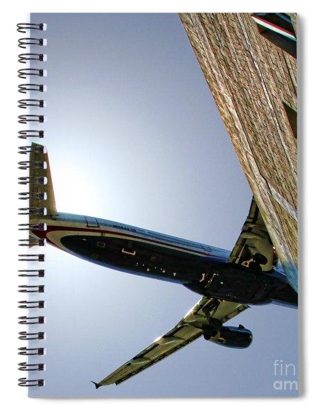Landing By Diana Sainz Spiral Notebook