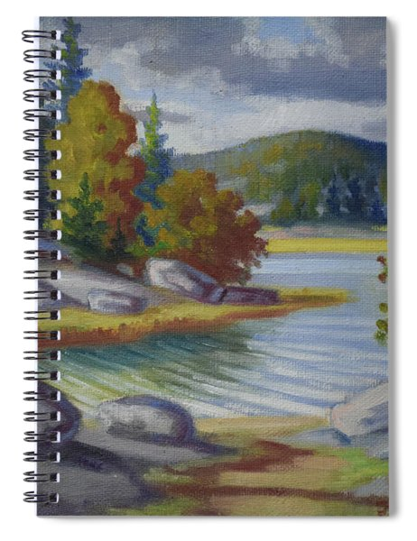Landscape From Finland Spiral Notebook