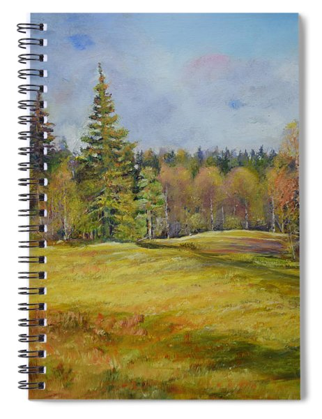 Landscape From Pyhajarvi Spiral Notebook