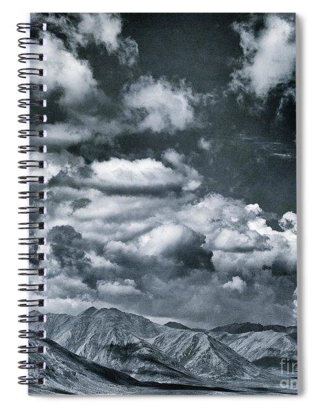 Land Shapes 28 Spiral Notebook by Priska Wettstein