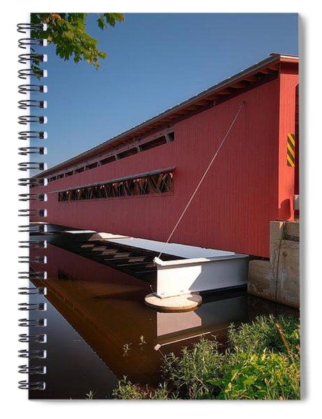 Langley Covered Bridge Michigan Spiral Notebook