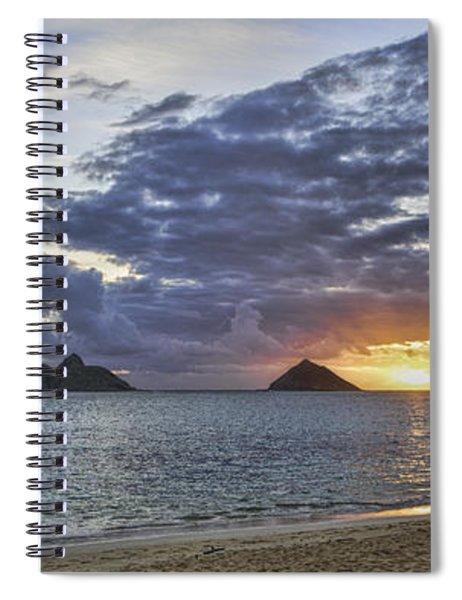 Lanikai Sunrise Spiral Notebook