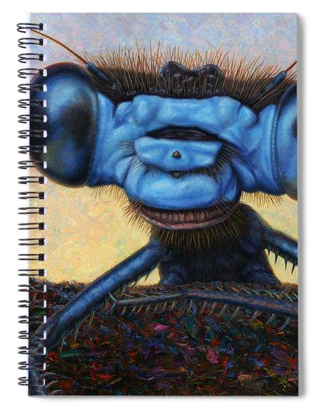 Large Damselfly Spiral Notebook