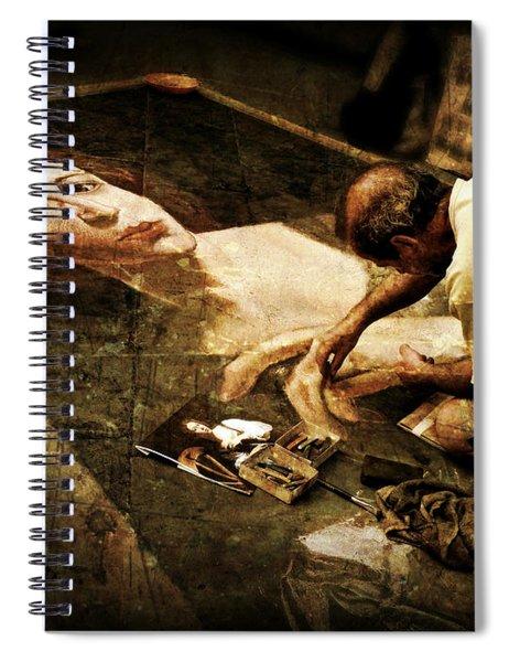 L'artista Di Strada Spiral Notebook