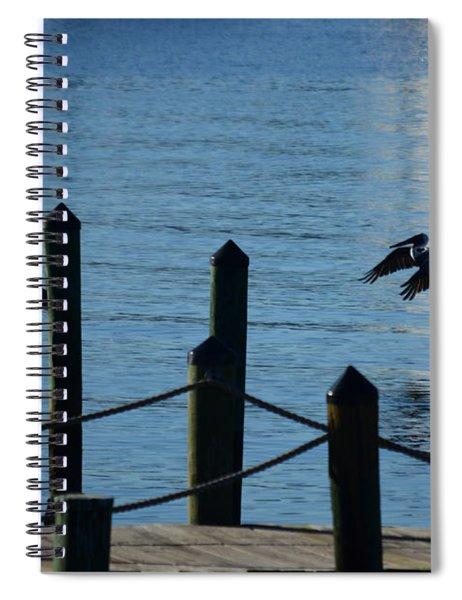 Last Light Flight Spiral Notebook