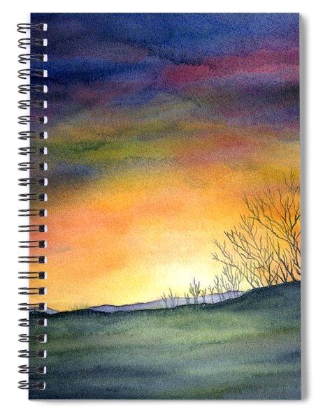 Last Night Spiral Notebook