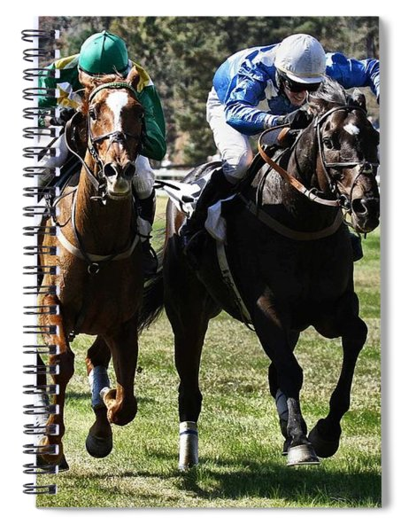 Last One To The Finish Line Is A Rotten Egg Spiral Notebook