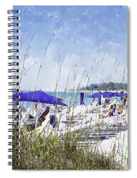 Late Winter Early Spring When Everybody Goes To Florida Spiral Notebook