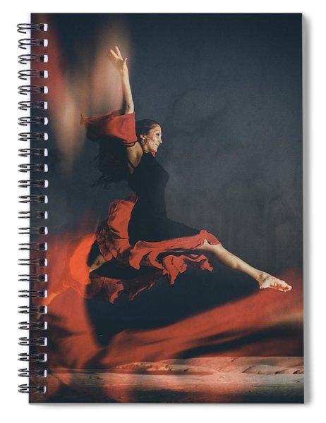 Latin Dancer Spiral Notebook