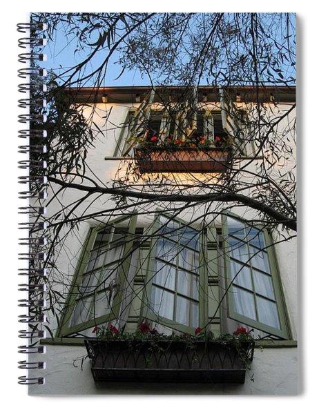 L'auberge Facade Spiral Notebook