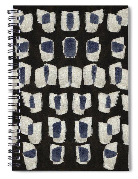 Laura Series Making Marks 545b1 Spiral Notebook