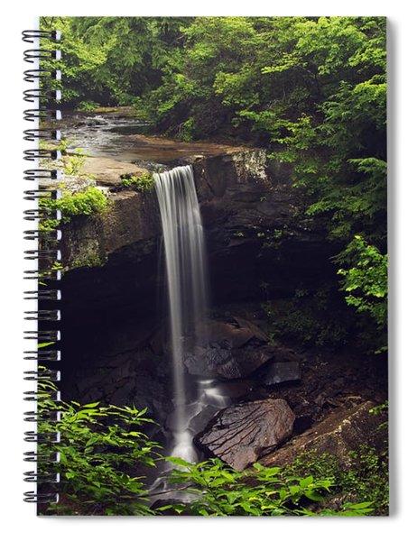 Laurel Falls Waterfall Spiral Notebook