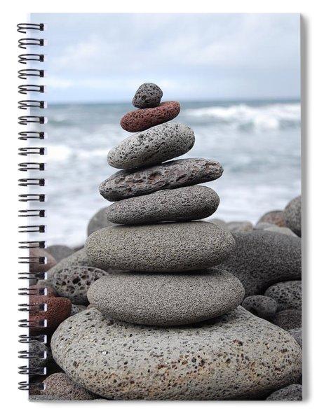Lava Cairn Spiral Notebook