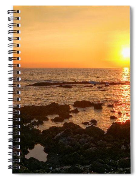 Lava Rock Beach Spiral Notebook