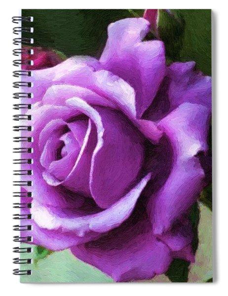 Lavender Lady Spiral Notebook