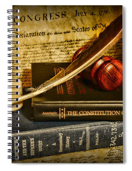 Lawyer - The Constitutional Lawyer Spiral Notebook