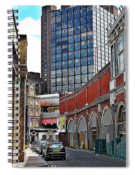 Layers Of London Spiral Notebook