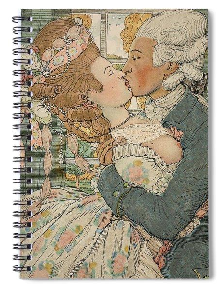 Le Baiser Spiral Notebook
