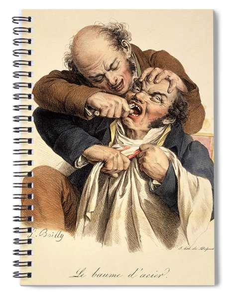 Le Baume Lacier - Having A Tooth Spiral Notebook