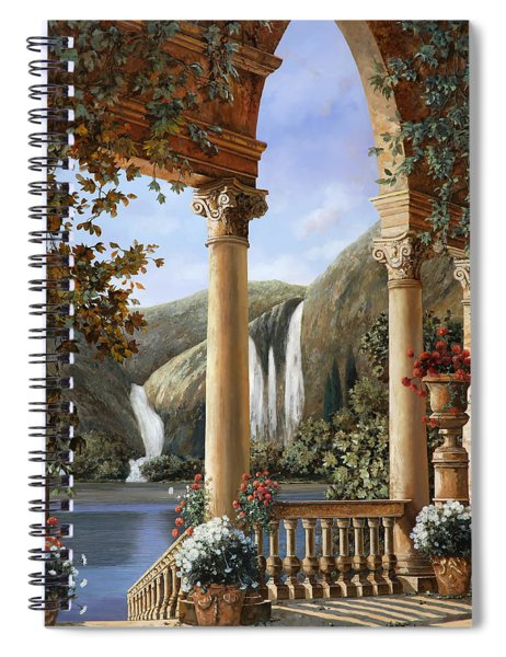 Le Cascate Spiral Notebook