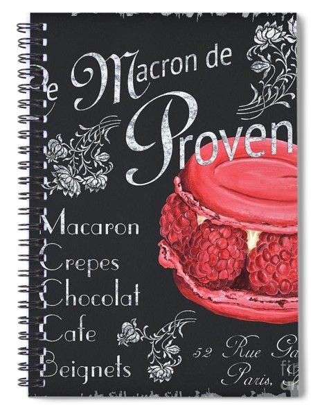 Le Macron De Provence Spiral Notebook