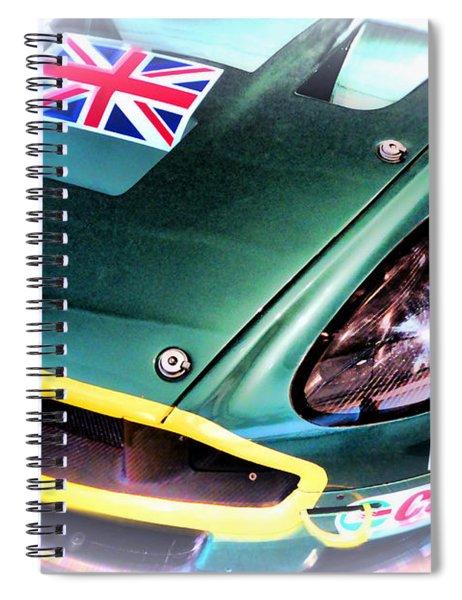 Le Mans 2005 Aston Martin Drb 9 Gt Spiral Notebook
