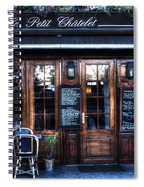 Le Petit Chatelet Paris France Spiral Notebook