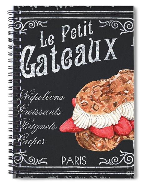 Le Petit Gateaux Spiral Notebook