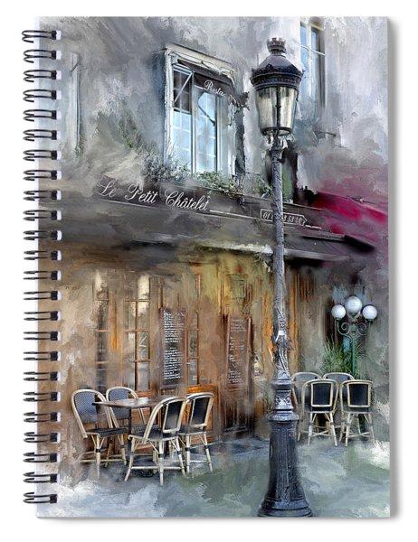 Le Petit Paris Spiral Notebook