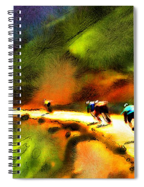 Le Tour De France 02 Spiral Notebook