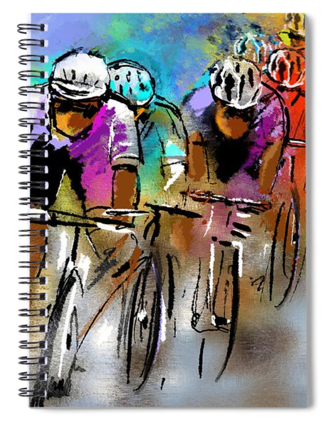 Le Tour De France 03 Spiral Notebook