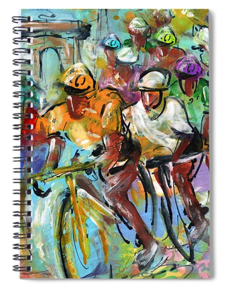 Le Tour De France Madness 02 Spiral Notebook