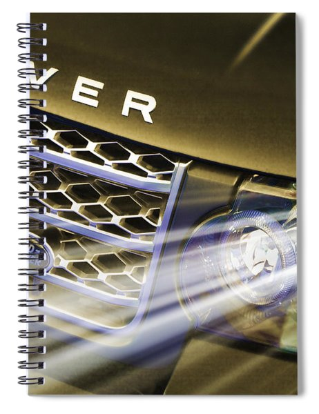 Leading Light Spiral Notebook