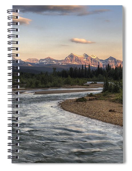Leading To Sofa Spiral Notebook
