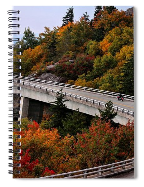 Lean In For A Ride Spiral Notebook