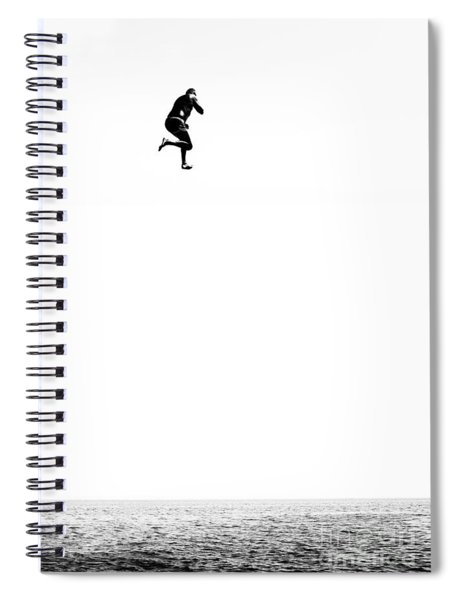 Leap Of Faith Spiral Notebook