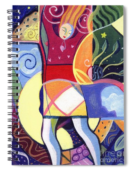 Leaping And Bouncing Spiral Notebook