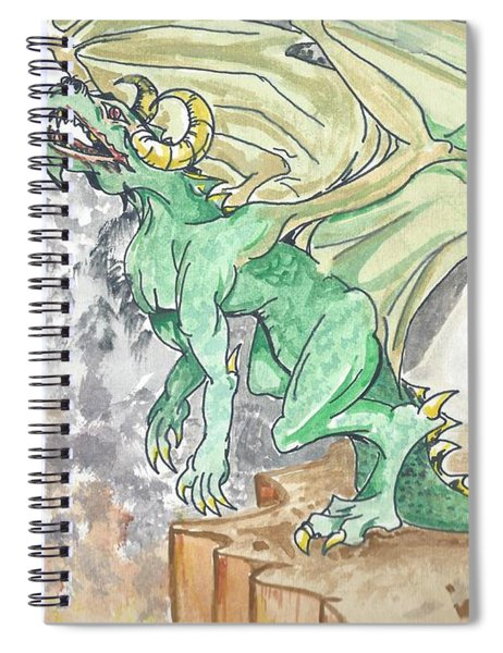 Leaping Dragon Spiral Notebook