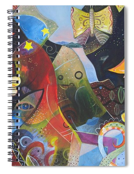 Learning To See Spiral Notebook