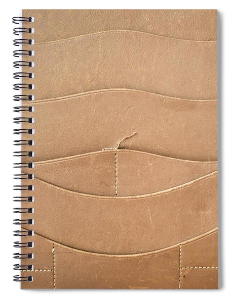 Leather Satchel Spiral Notebook