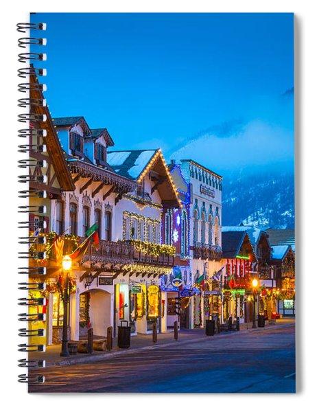 Leavenworth Skyline Spiral Notebook