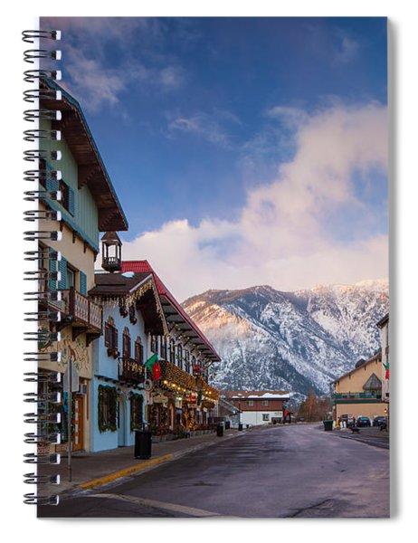 Leavenworth Winter Street Spiral Notebook