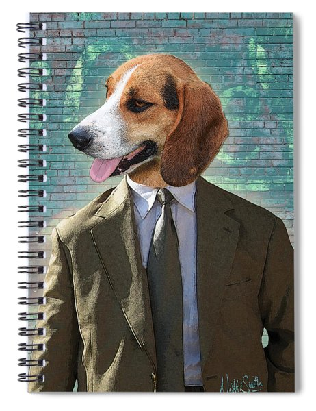 Legal Beagle Spiral Notebook